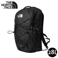 【The North Face 28L JESTER後背包《黑》】3VXF/多功能休閒背包/電腦背包/學生書包