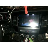三菱outlander 9吋專用 網路電視安卓主機 衛星導航+音樂+藍牙電話