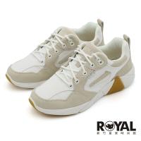 Skechers Mark Nason 白米 麂皮 紡織布 運動鞋 女款 NO.J1037【新竹皇家 133245WHT】