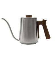 金時代書香咖啡 Minos  有蓋手沖壺 600ml 不銹鋼木紋色 Minos-POC-600-OB