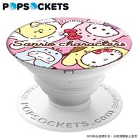 【PopSockets 泡泡騷】美國 No.1 時尚手機支架-凱蒂貓x布丁狗x帕恰狗-轉轉汪汪
