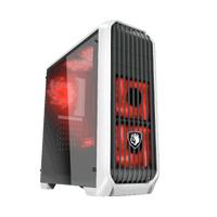 免運 賽德斯 阿努比斯 Anubis (1大6小) 全透側水冷電腦機殼 (黑配白)
