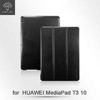 【Metal-Slim】Huawei MediaPad T3 10(高仿小牛皮三折立架式皮套)