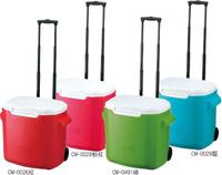 【美國 Coleman】26.5L拖輪置物型冰桶