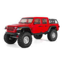 V-TOY Axial SCX10 III Jeep Gladiator 角鬥士攀岩車RTR 紅色AXI03006T2