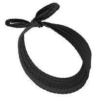 【NIKE 耐吉】髮帶 運動 訓練 路跑HEAD TIE SKINNY  黑 N1002152010