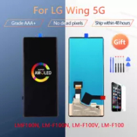 """6.80"""" Brand new Super AMOLED For LG Wing 5G LCD Display Touch Screen Digitizer Assembly Replacement for LG WING LCD Sreen"""