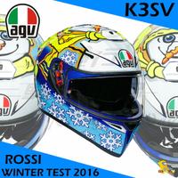 任我行騎士部品 AGV K3SV ROSSI WINTER TEST 2016 全罩 安全帽 內墨鏡 除霧片 冬測 K3-SV