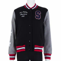 【SKECHERS】女棒球外套(W4JA84ABKGY)