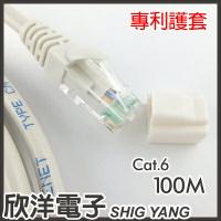 ※ 欣洋電子 ※ Twinnet Cat.6高速網路線 100M / 100米 附測試報告(含頭) 台灣製造(02-01-2100)