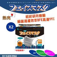 【KOgerm】活性碳口罩-日本熱銷款(單包裝50片入)