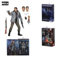 "Terminator Arnold Schwarzenegger T-800 Action Figure NECA PVC ของเล่นสะสม7 ""18ซม"