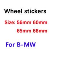 4X 56 60Mm 65Mm 68Mm พวงมาลัยรถป้ายสัญลักษณ์สติกเกอร์สำหรับ Bmw F10 F20 F25 f30 E36 E39 E87 E60 E46 E90 X1 X3 X5
