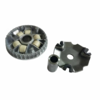 Motor Kopling Variator Drive Wajah Pulley ASSY untuk Honda Zoomer 110 X ACG110 ACG 110 2014-2017 Scoopy 110 Bekas Warna 2010-2017