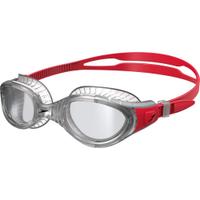 ║speedo║成人運動泳鏡Futura Biofuse透明/紅灰