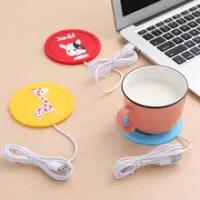 USB อุ่น Gadget การ์ตูนซิลิโคนบางถ้วย-Pad กาแฟชาเครื่องดื่ม Usb เครื่องทำน้ำอุ่นถาดแก้ว Pad ความร้อน Coaster ...