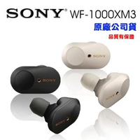 【SONY 索尼】WF-1000XM3 真無線藍牙降噪耳機(公司貨)