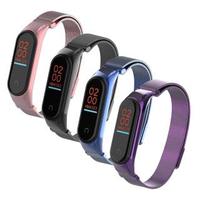 【AdpE】小米手環5代/6代 米蘭磁吸不銹鋼錶帶