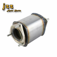 JZZ Aveo Katalis Keramik 1, 6L Konverter Katalitik Pengganti Knalpot Mobil Gaya Mobil