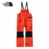 【The North Face】The North Face北面女款橘色防水透氣衝鋒褲 4R1BSH9