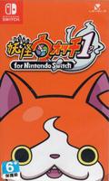 美琪 Switch遊戲卡 Ns 妖怪手錶1代 重製版 日版日文