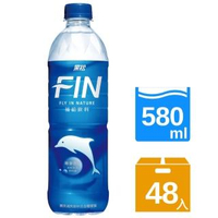 【黑松】FIN補給飲料580mlx2箱(共48入)
