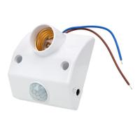 燈泡座 E27燈座紅外線人體感應燈座 燈座 插座 感應燈 LED燈