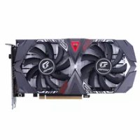 Seven color rainbow igame geforce GTX 1650 ultra 4G computer game graphics card