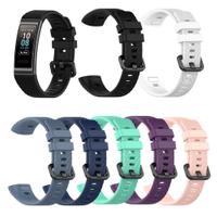 HWBD】 Huawei Band 3 / Band 3 Pro 手鍊錶帶的矽膠腕帶,  Huawei Band 4