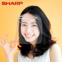 【SHARP 夏普】奈米蛾眼科技防護面罩 2入