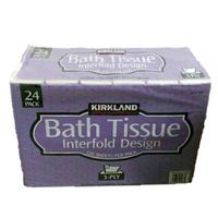 衛生紙 KIRKLAND 抽取式衛生紙 限購3串 限宅配 24包X120抽 面紙 清潔 居家 面紙