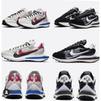 全新現貨不用等 Sacai X Nike VaporWaffle 2.0 限量聯名 解構重組 拼接 黑白 白藍