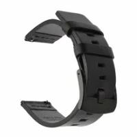 นาฬิกาหนังแท้สายสแตนเลส22มม.เหมาะสำหรับ Casio MDV106เหมาะสำหรับ Samsung Galaxy Watch 42มม.