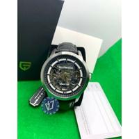 帝安諾 - 實體店面 PAGANI DESIGN 帕加尼 義大利🇮🇹 機械雙鏤空皮錶 手錶 黑色 附保證卡 原裝盒裝▶全館超取$399免運