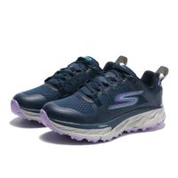 【滿千折百優惠開跑】SKECHERS 休閒鞋 GO TRAIL ULTRA 4 深藍 防潑水 機能 越野鞋 女 (布魯克林) 172030NVLV