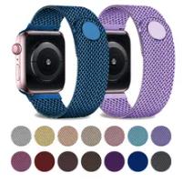สำหรับ Apple Watch Band 44มม.40มม.38มม.42มม.44มม.Magnetic Loop สแตนเลสโลหะสร้อยข้อมือ IWatch Series 3 4 5 6 Se Band