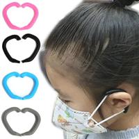【Mask Silicone Ear Guides】矽膠彎式口罩護耳套8入4對(減壓 防勒 口罩掛鉤 護耳神器)