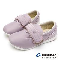 【MOONSTAR 月星】Pastel介護鞋(淺紫)