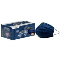 萊潔 醫療防護成人口罩-牛仔金屬藍(50入/盒裝)(衛生用品,恕不退貨,無法接受者勿下單)
