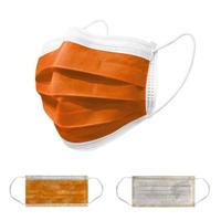 【欣新】防護口罩50片/盒 橘色 3盒150片組(pp色母粒製作不掉色安全無毒)