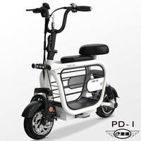 【e路通】PD-1 寵膩 48V 高碳鋼 鋰電 10AH 雙避震 LED燈 寵物親子 電動車(電動自行車)