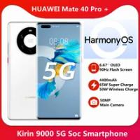 สต็อก HUAWEI Mate 40 Pro + Plus 5G 256GB สมาร์ทโฟน6.76 ''Kirin 9000 5nm หัตถกรรมบลูทูธ5.2 65W SuperCharge NFC
