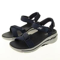 【SKECHERS】女 健走系列涼拖鞋 GO WALK ARCH FIT SANDAL(140251NVY)