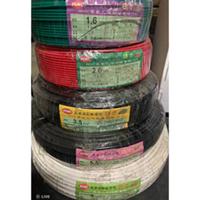 『祐實材料』太平洋電線 單芯 1.6 2.0 3.5 5.5 8  快速出貨 100米 整捆電線(可散出另售14/22)