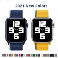 สำหรับ Apple Watch Band สร้อยข้อมือเข็มขัด44มม.38มม.ผู้หญิง SE Iwatch 40มม.42มม.อุปกรณ์เสริม series 2 3 4 5 6กีฬา Loop