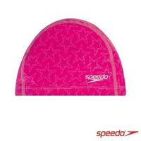 【SPEEDO】成人合成泳帽 BoomStar Ultra Pace(粉紫)
