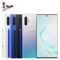 "Samsung Galaxy Note10 + US รุ่น N975U1หมายเหตุ10 Plus โทรศัพท์มือถือ6.8 ""12GB RAM 256GB ROM octa Core Android สมาร์ทโฟน"