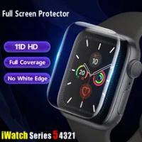 สำหรับApple Watch Band 44มม.40มม.42มม.38มม.11Dครอบคลุมเต็มรูปแบบนุ่มฟิล์มiwatch Series 6 Se 5 4 3อุปกรณ์เสริม