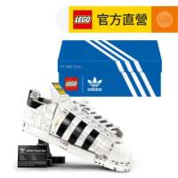 【LEGO 樂高】Creator Expert 10282 adidas Originals Superstar(愛迪達 運動鞋)