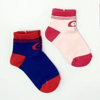 日本月星Moonstar機能襪-健康成長機能童襪2色063藍/065粉M(15-18cm)